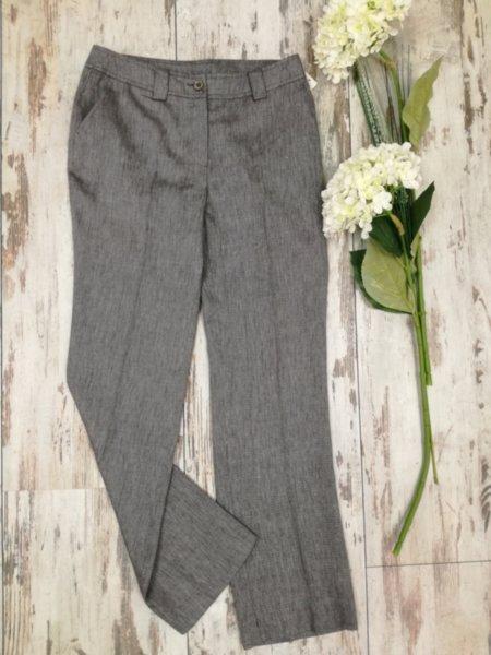Дамски панталон сив меланж